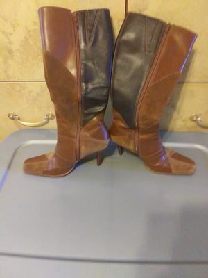Aldo Leather Boots for Sale in Wesley Chapel, FL