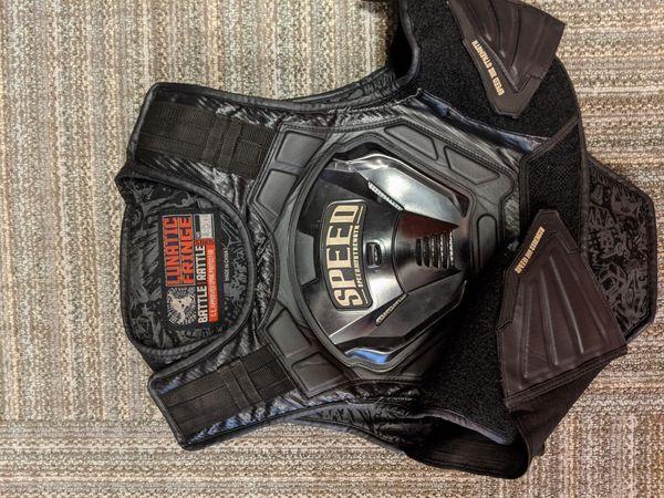 Lunatic fringe motorcycle vest