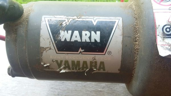 Yamaha exclusive warn Industries winch $75