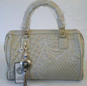 Versace Quilted Vanitas Bone Color Bag for Sale in Costa Mesa, CA