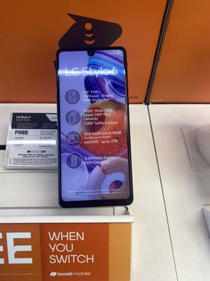 LG Stylo 6 For Free When You Switch! for Sale in Fort Worth, TX