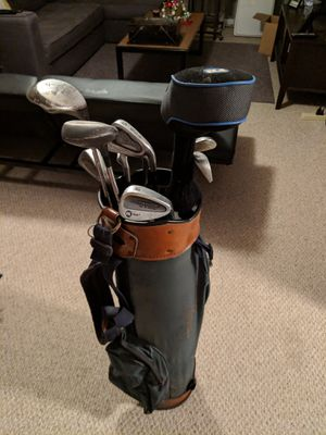 Arnold palmer golf bag with misc. clubs for Sale in Nashville, TN