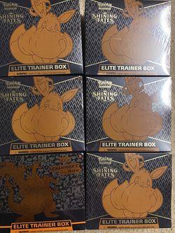 Pokémon Shining Fates & Champions Path Elite Trainer Boxes for Sale in Springfield,  VA