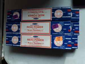 6 brand new unopened boxes of nag champa incense sticks Satya reiki power fragrance for Sale for sale  Lancaster, OH