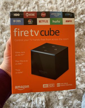 Fire TV cube for Sale in Providence, RI