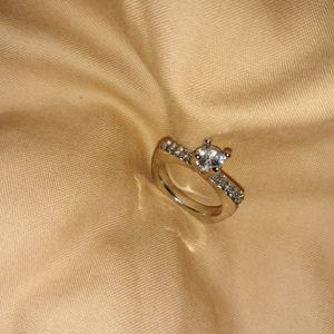925 Sterling Silver Engagement Ring, Size 6. for Sale in Dallas, TX