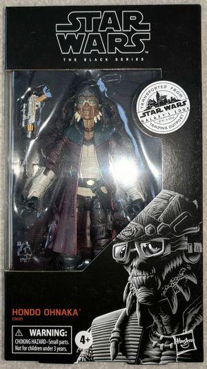 Star Wars Black Series Hondo Ohnaka Galaxy's Edge Target Exclusive for Sale in Pasadena, TX