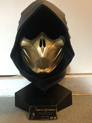 Mortal Kombat 11 Scorpion Collectible Mask (with authenticated certificate) for Sale in Torrance, CA
