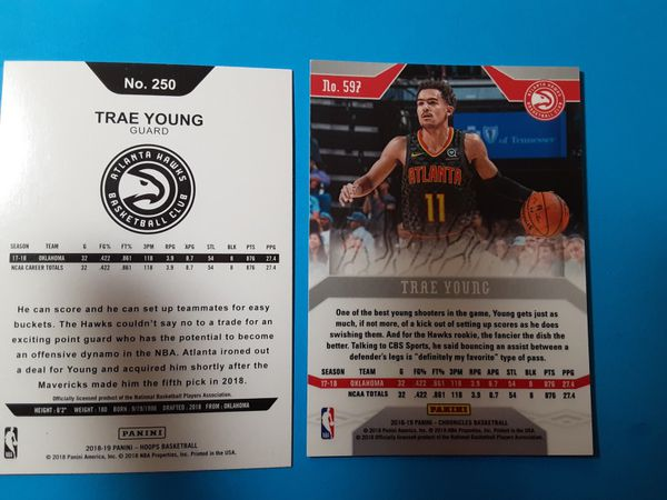 Trae Young Rookies