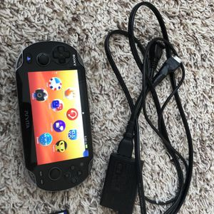 Sony PSVita Wifi Handheld Video Game Console With Charger And Fifa 12 Game for Sale in Richmond, TX