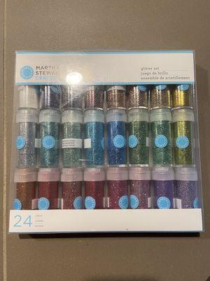 Martha Stewart glitter set (24 pack) for Sale in Portland, OR