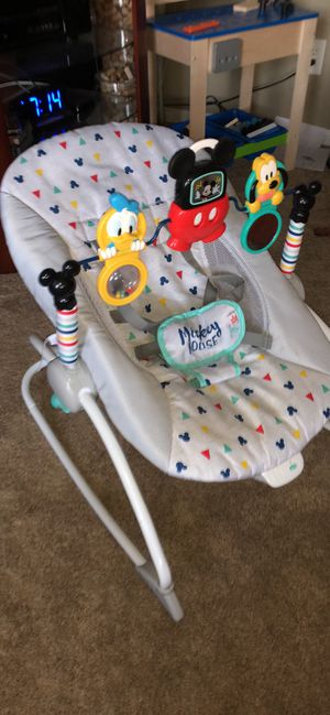 Mickey Mouse Baby Rocker for Sale in Chesapeake, VA