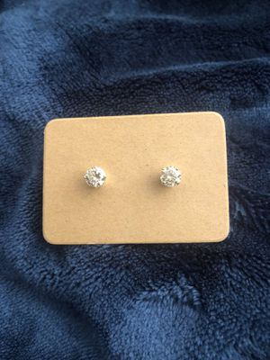 Beautiful Canary (Yellow) Diamond Earrings! Gorgeous Sparkle!! for Sale in San Jose, CA