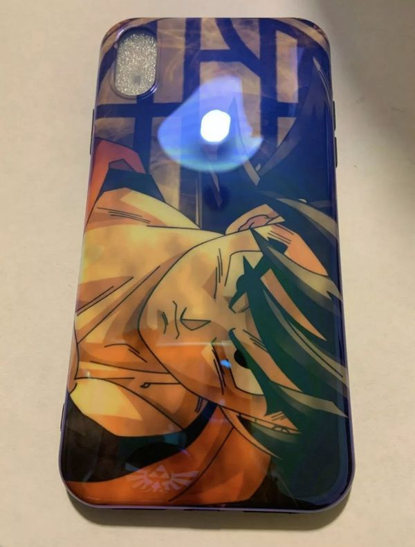 Dragon Ball Z Goku #3 fitted Soft Silicone phone Case iPhone XR, 11, pro, pro max phone case