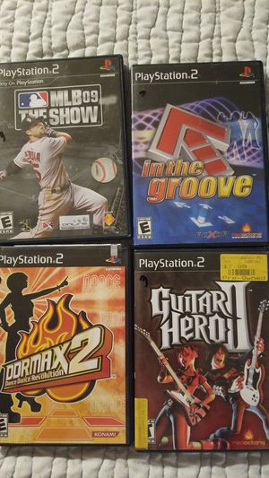 Playstation 2- ps2 video games sony for Sale in Chevy Chase, MD