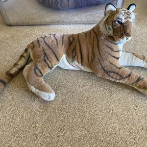 Large Tiger Stuffed Animal for Sale in Temecula, CA