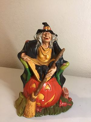Halloween Witch Candle holder for Sale in Stockton, CA