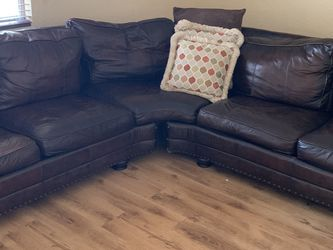 Sectional leather for Sale in Brandon,  FL