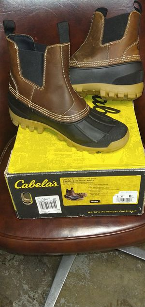 SIZE 9 CABELA'S DOUBLE-GORE DUCK BOOTS for Sale in Murray, UT
