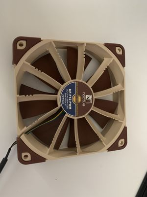 Noctua NF-F12 PWM 120mm Fan Brand New. for Sale in North Port, FL