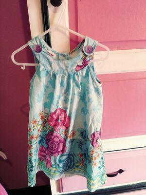 Girls blue flower dress for Sale in Jacksonville, FL