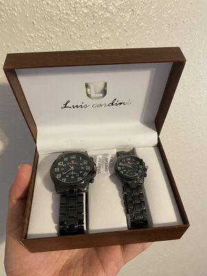 Luis Cardini Watch her and His for Sale in Bellaire, TX