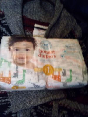 Honest diapers size 1 for Sale in Portland, OR