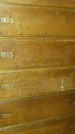 Solid Cherry Wood Vintage Chest for Sale in Silver Spring,  MD