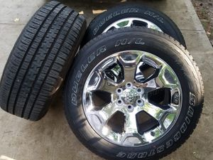 2019 Dodge Rims and tires new for Sale in Humble, TX