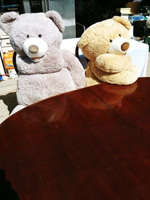 Huge 5ft. Teddy Bears They each weigh nearly 20lbs for Sale in Phoenix, AZ