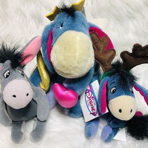 Y2K Disney Winnie The Pooh Eeyore Plush Toys for Sale in Largo, FL