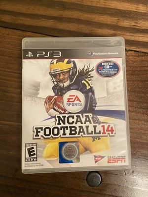 NCAA 14 PS3 for Sale in Virginia Beach, VA