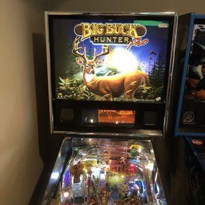 Big Buck Hunter Pinball Arcade for Sale in Woodstock, GA