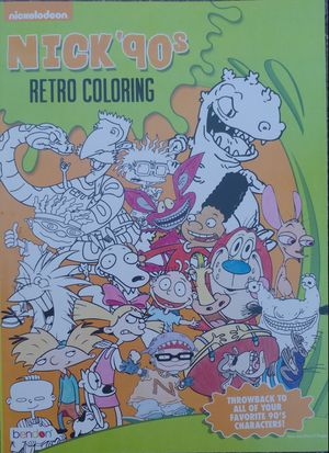 NICKELODEON 90's RETRO CARTOON COLORING BOOK ⚫1990'S THROWBACK ⚫RETRO CARTOONS ⚫RUGRATS ⚫HEY ARNOLD! ⚫REN & STIMPY ⚫WILD THORNBERRYS ⚫CAT DOG for Sale in Fort Worth, TX