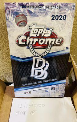 2020 Topps Chrome Baseball Ben Baller Edition Hobby Box for Sale in Santa Clarita,  CA