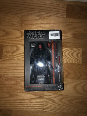Black Series Darth Maul Action Figure for Sale in Chicago, IL