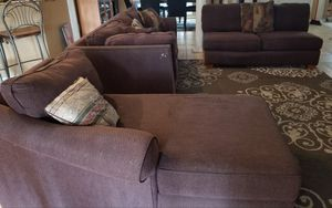 Sofa sectionals with chaise for Sale in Lakeland, FL
