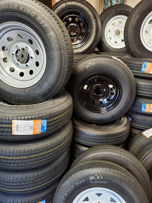 TRAILER AND CAMPER TIRES AND WHEELS STARTING AT $60+ TAX AND UP 678▪︎580▪︎8144 for Sale in Douglasville, GA