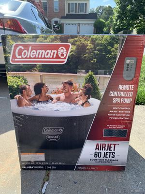 Coleman spa pool hot tub for Sale in Boyds, MD
