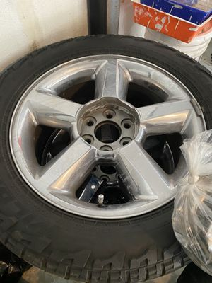 "20"" Chevy OEM Rims and Tires for Sale in Kansas City, MO"