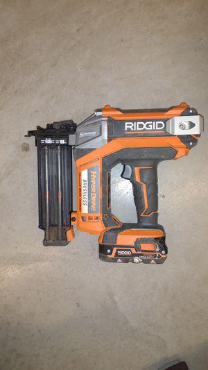 Rigid cordless nail gun for Sale in Austin, TX