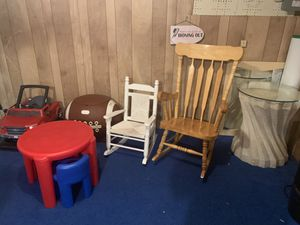 Kids rocking chair and other items for Sale in Verona, PA