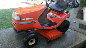 "KUBOTA T1460 lawn tractor. New 48""deck runs and mows great for Sale in Monroe, WA"