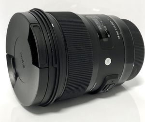 Sigma 24mm f/1.4 Art Lens for Canon EF + USB Dock for Sale in Seattle, WA