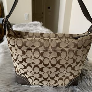 Coach Zip Signature Jacquard Hobo Shoulder Bag for Sale in Plano, TX