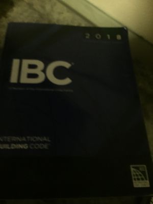 IBC BOOK 2018 for Sale in Lakewood, CA