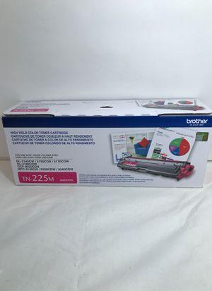 Brother OEM TN-225M Magenta Toner Cartridge New and Sealed Box for Sale in Santa Ana, CA