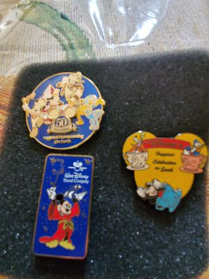 Disney MickeyMouse pins for Sale in Stockton, CA