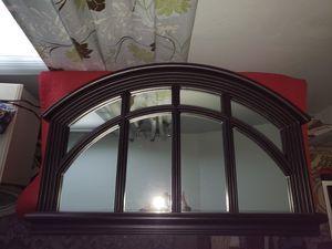 Large black wall mirror for Sale in Genoa, IL
