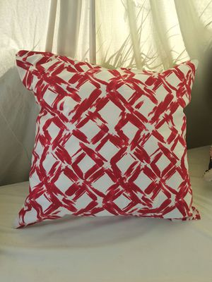 Brand new cherry red and white pillows! for Sale in Los Angeles, CA